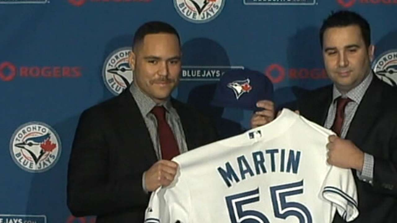 Blue Jays stocked with Canadians