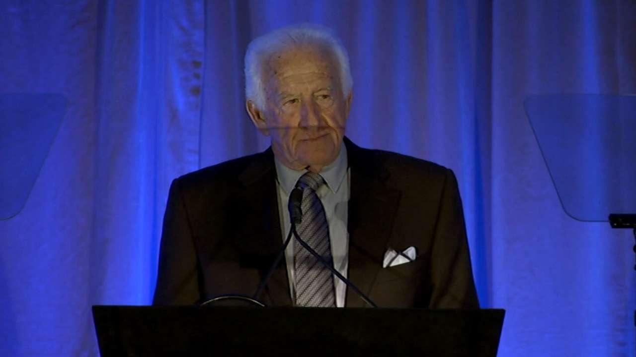Uecker shares Selig memories