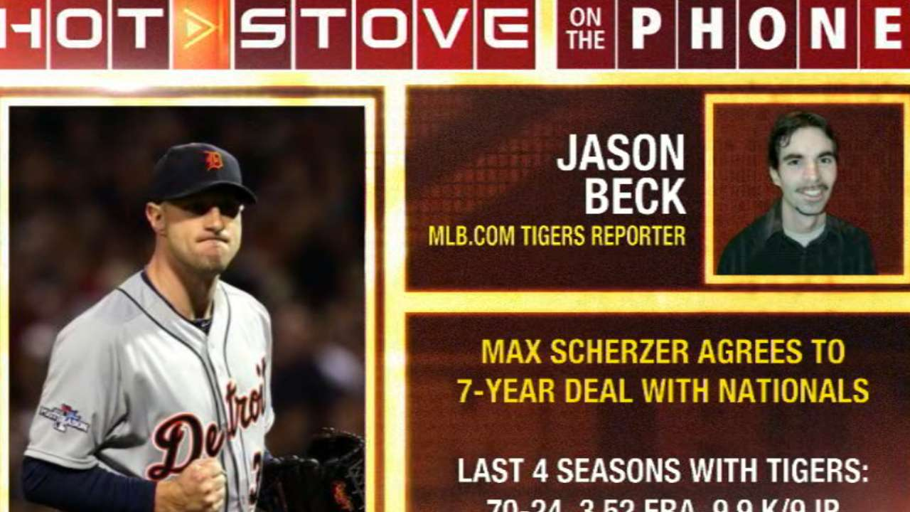 Scherzer's rise altered chances of deal with Tigers