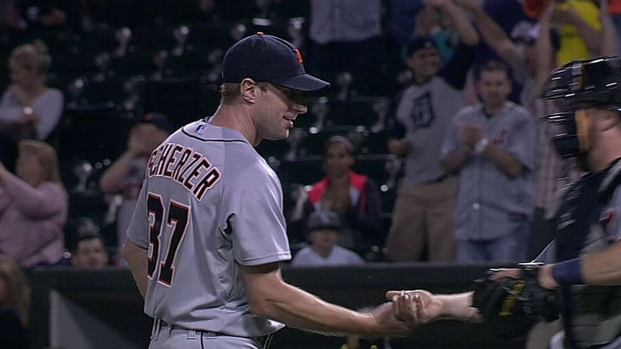 Scherzer's electric repertoire