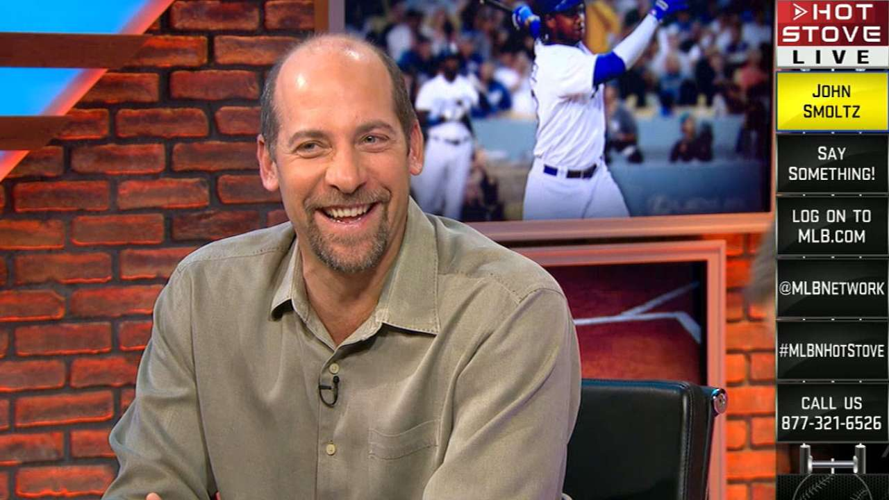 Smoltz looks ahead as Hall election sinks in