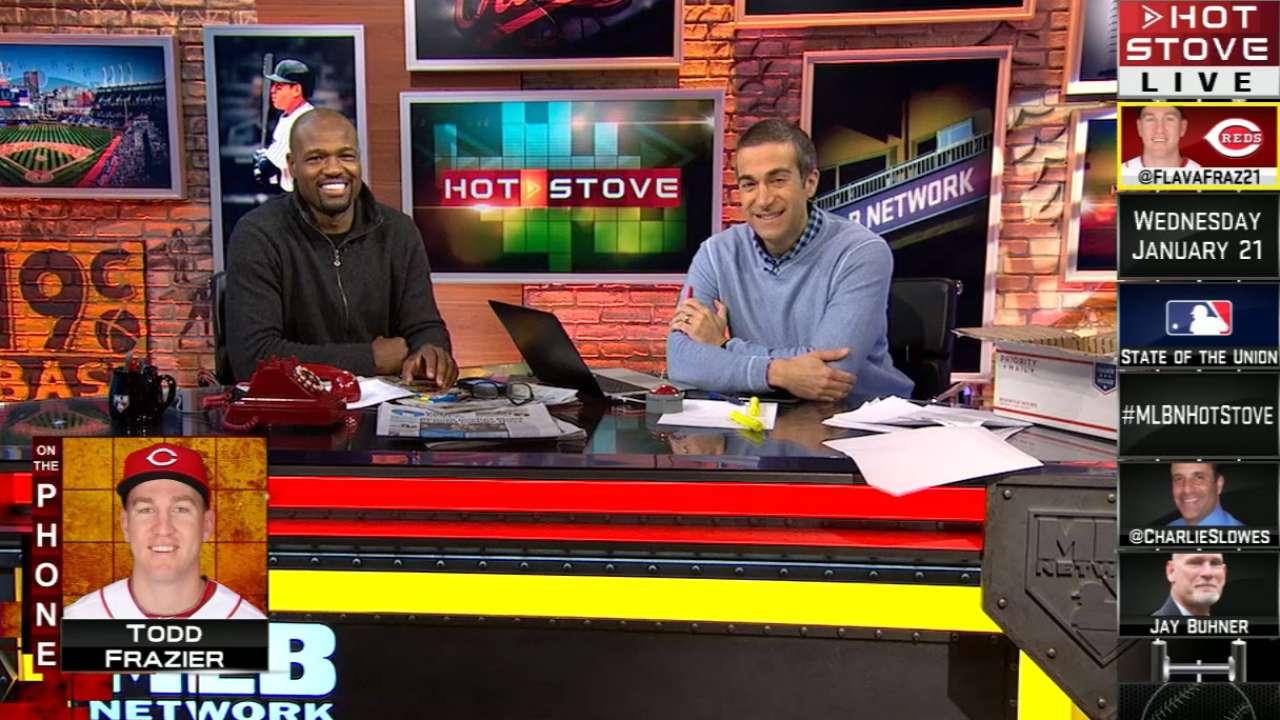 Todd Frazier calls Hot Stove