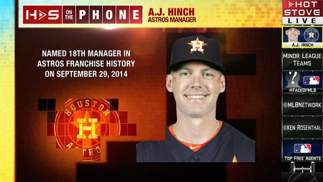 Astros' roster upgrades have Hinch raring to go