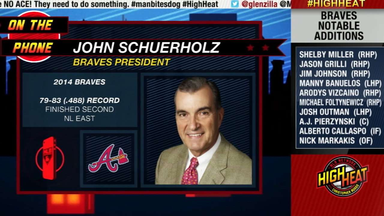 Schuerholz offers three messages to fans on Presidents' Day