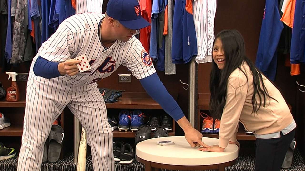 Magic time with Michael Cuddyer