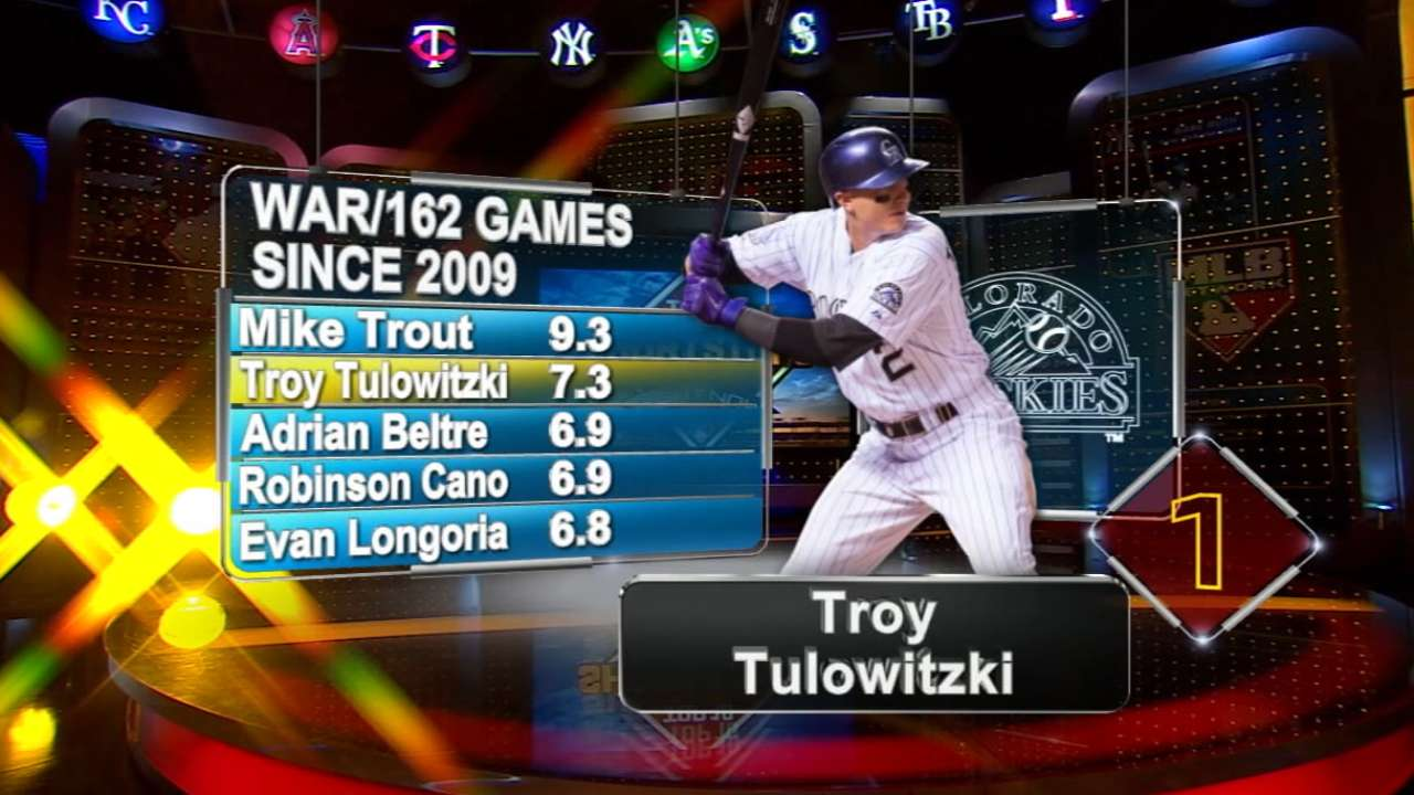 MLB Network: Tulo best of best at shortstop