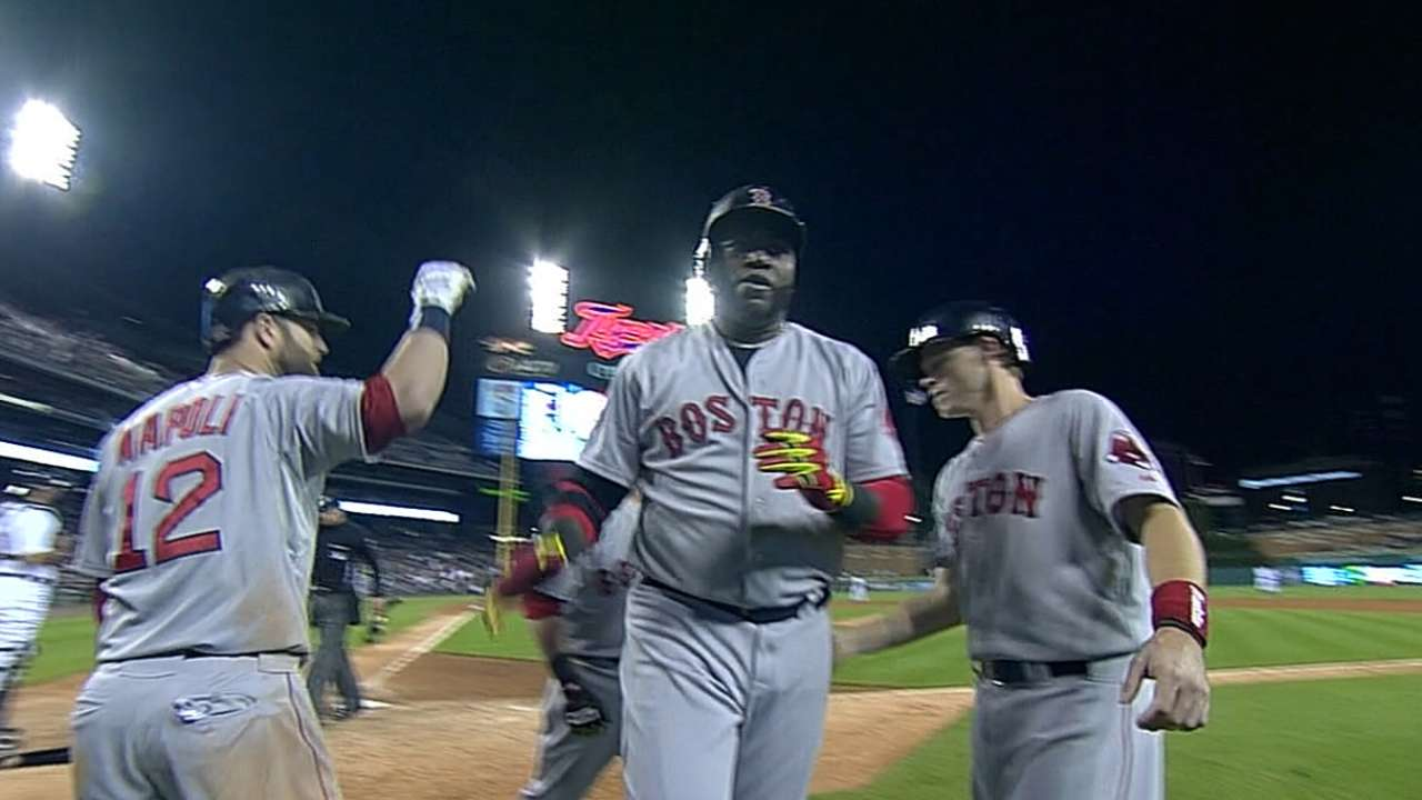 Red Sox always pleased to see Big Papi arrive at camp