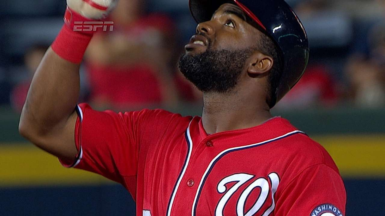 Span plays outfield in Minor League game