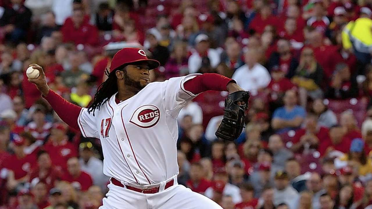 Cueto in Dominican Republic for family issue