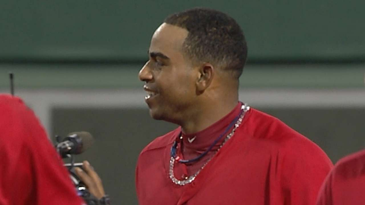 Cespedes, Tigers begin to build long-term relationship