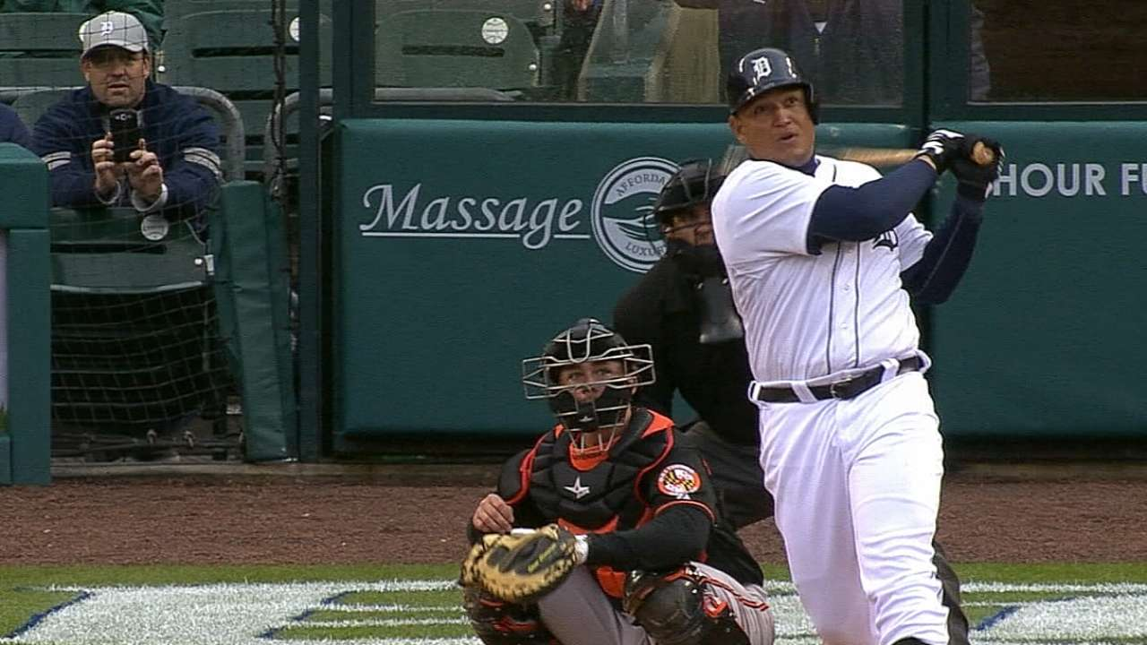 Miggy launches second spring homer to fuel Tigers