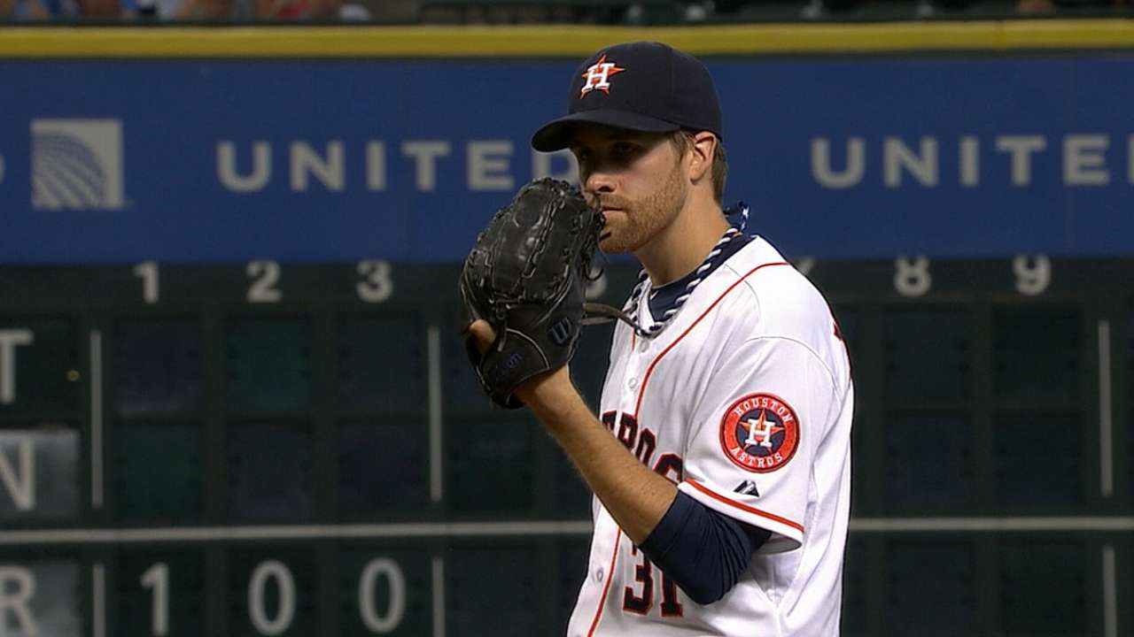 McHugh sharp as Astros power up in spring opener