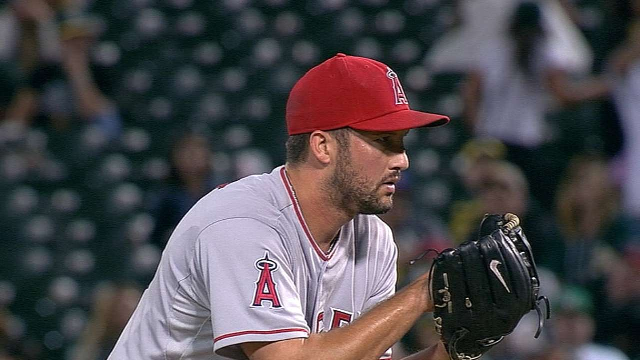 Angels want steady approach to set bullpen pace