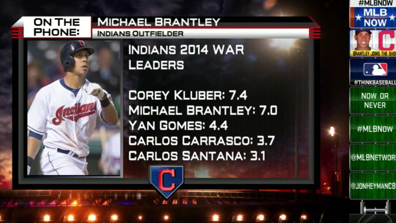 Brantley chats with MLB Now