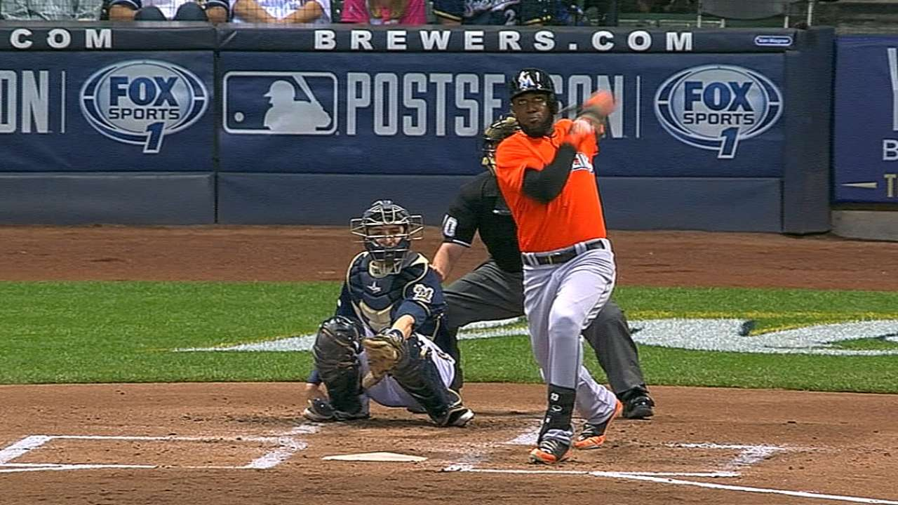 Ozuna willing to wait on extension