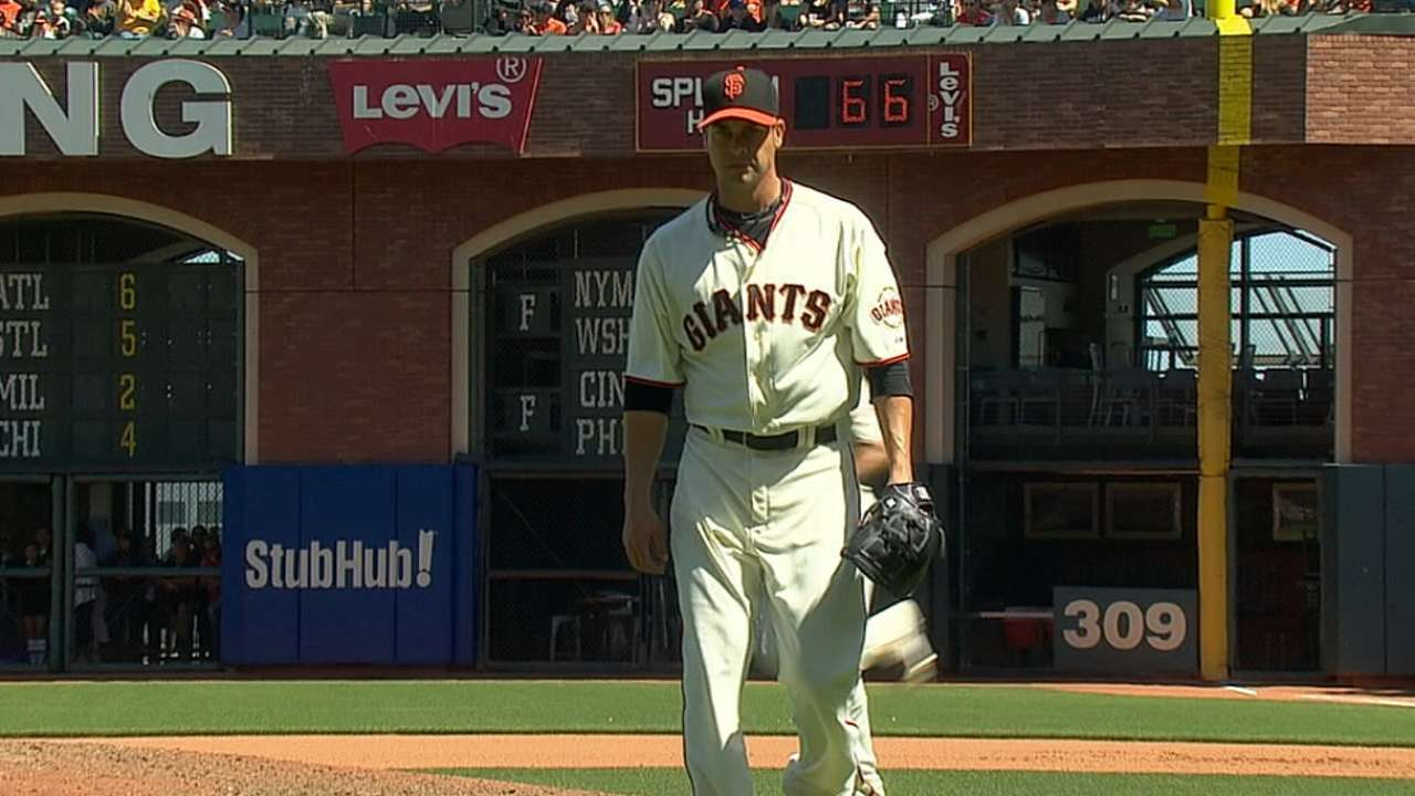 Vogelsong-Giants a logical pairing