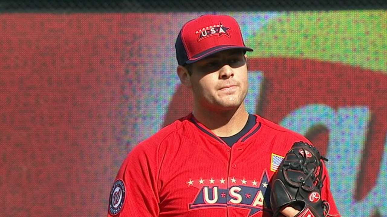 Giolito dominates for Double-A Harrisburg