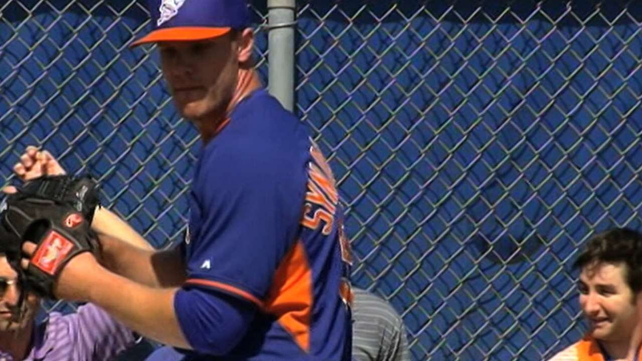 Led by Syndergaard, Mets have five of Top 100 Prospects