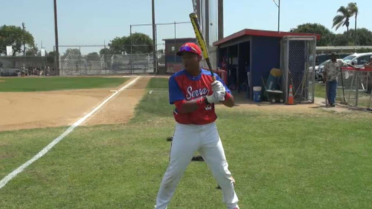 Smith's bat proves clutch in Fall League win