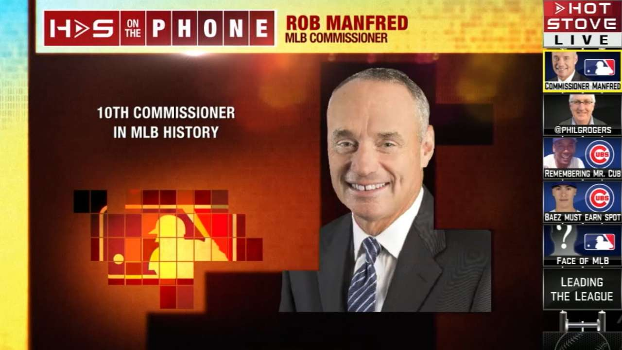 Hot Stove: Commissioner Manfred