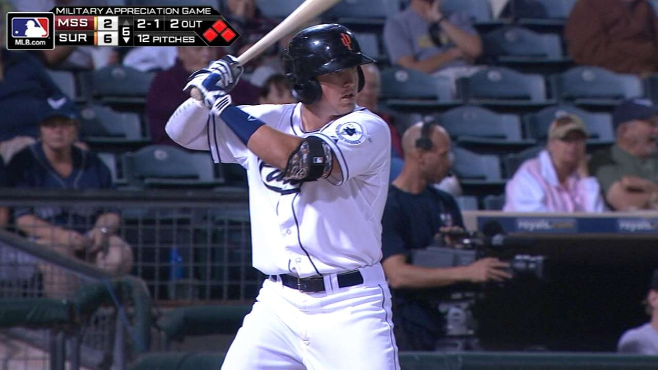 Renfroe continues torrid stretch at Triple-A El Paso