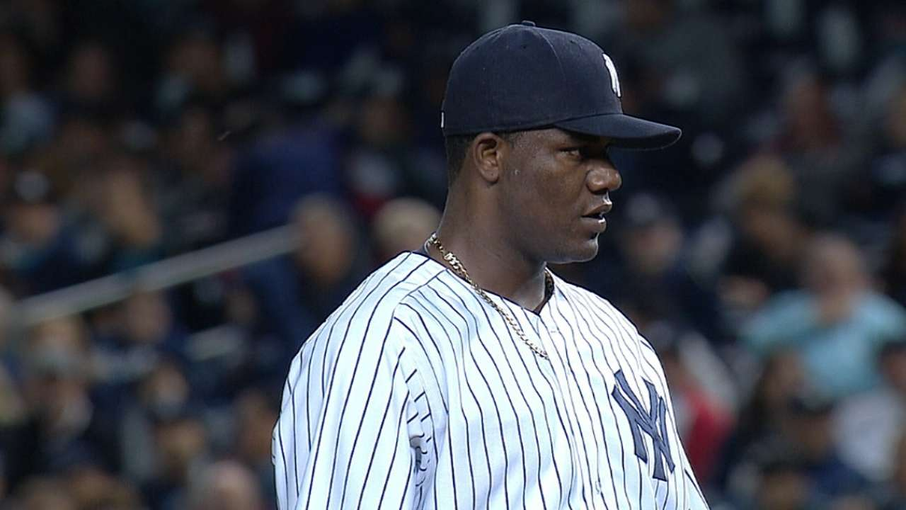 After first live BP, Pineda states goal for season