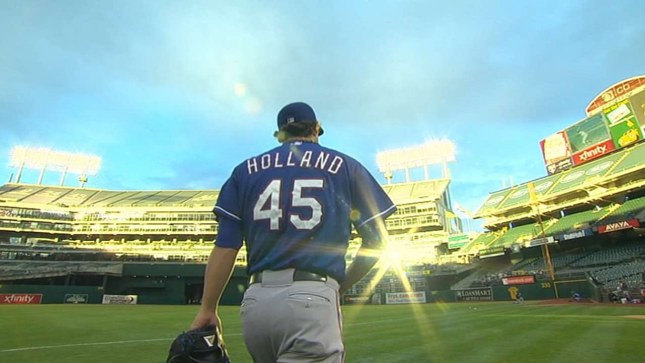 Banister won't rush timetable for Holland