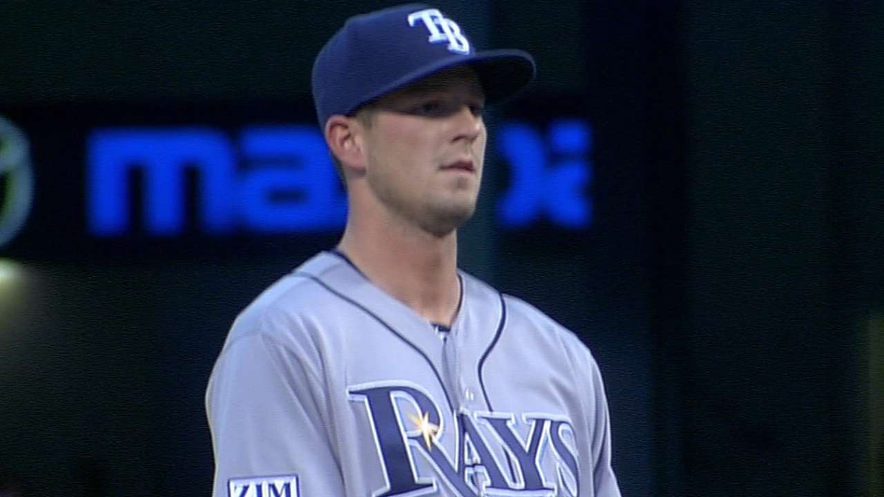 Smyly back throwing off mound, feeling good