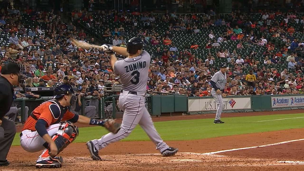 Zunino refining swing with right-center approach