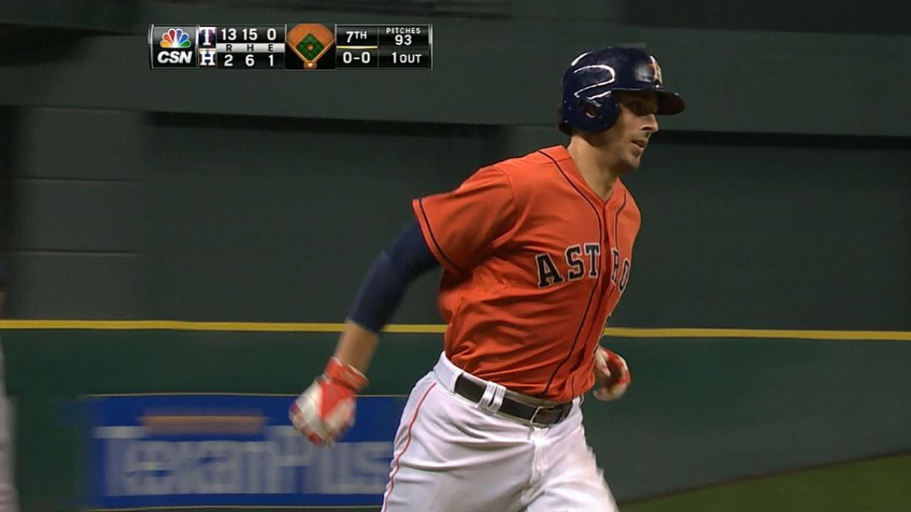 Astros hope to get improved numbers from young sluggers