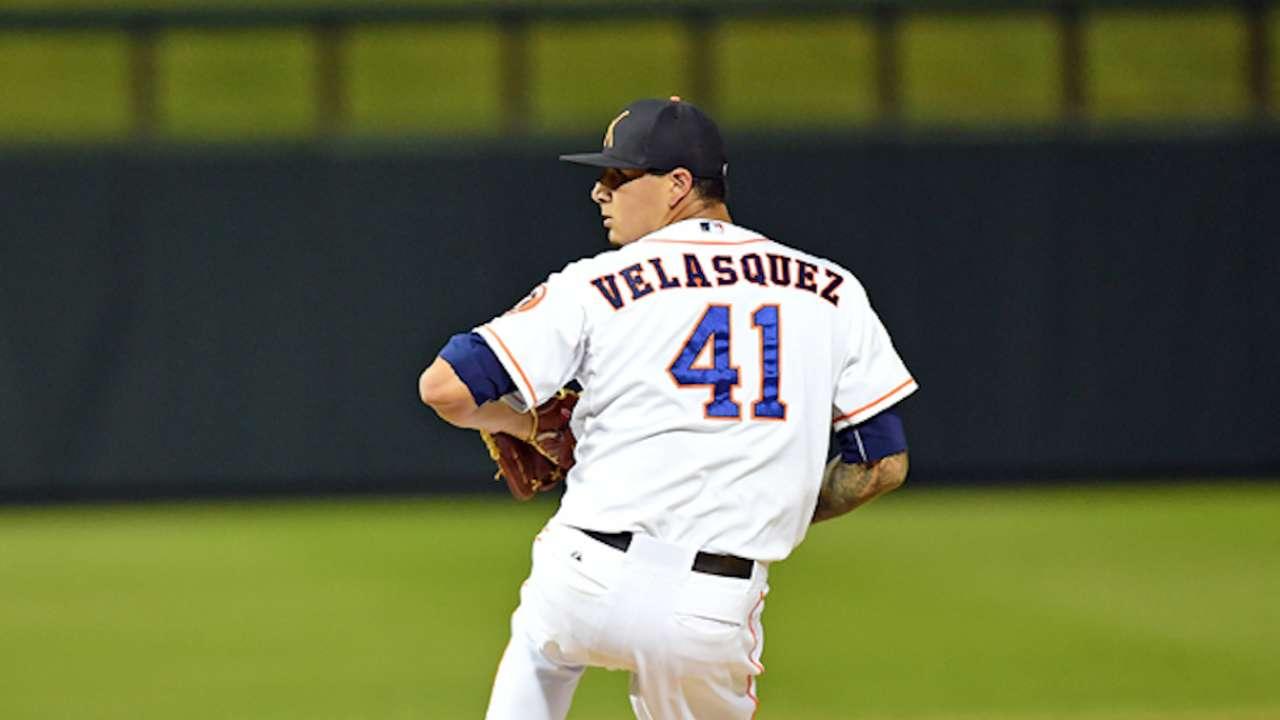 Top Prospects: Velasquez, HOU