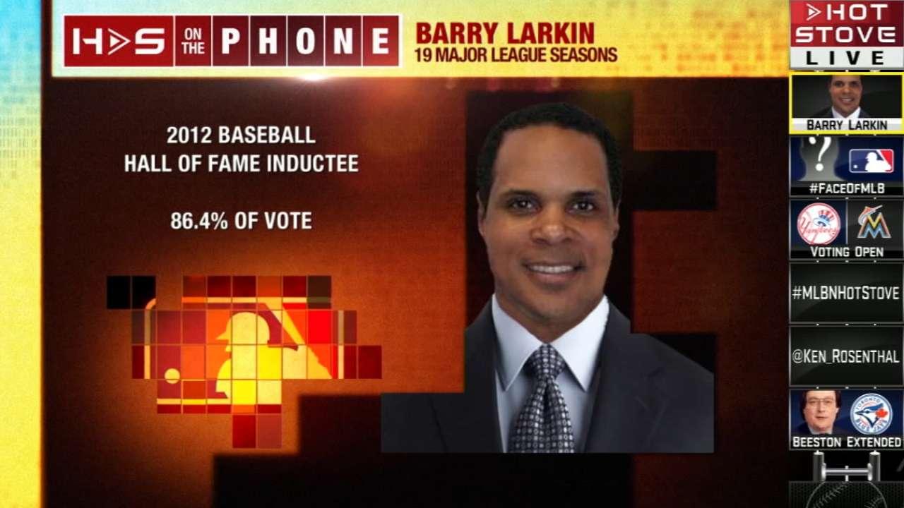 Hot Stove: Barry Larkin