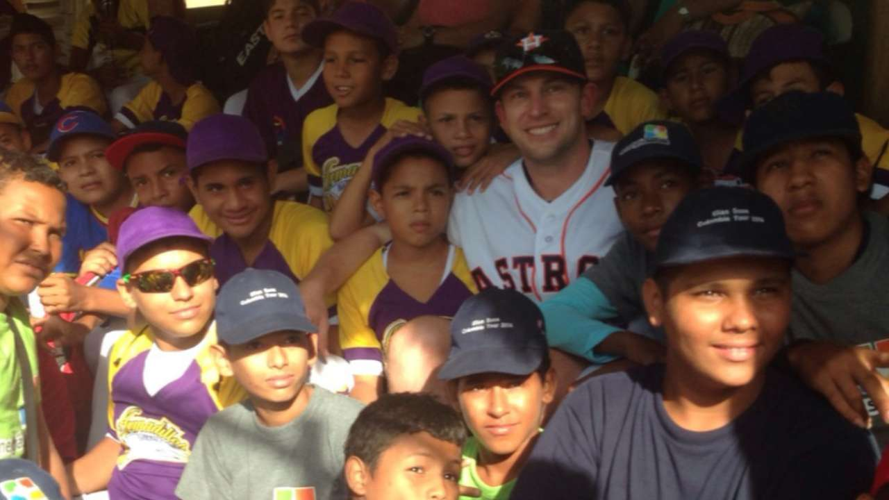 Lowrie helps grow game with trip to Colombia