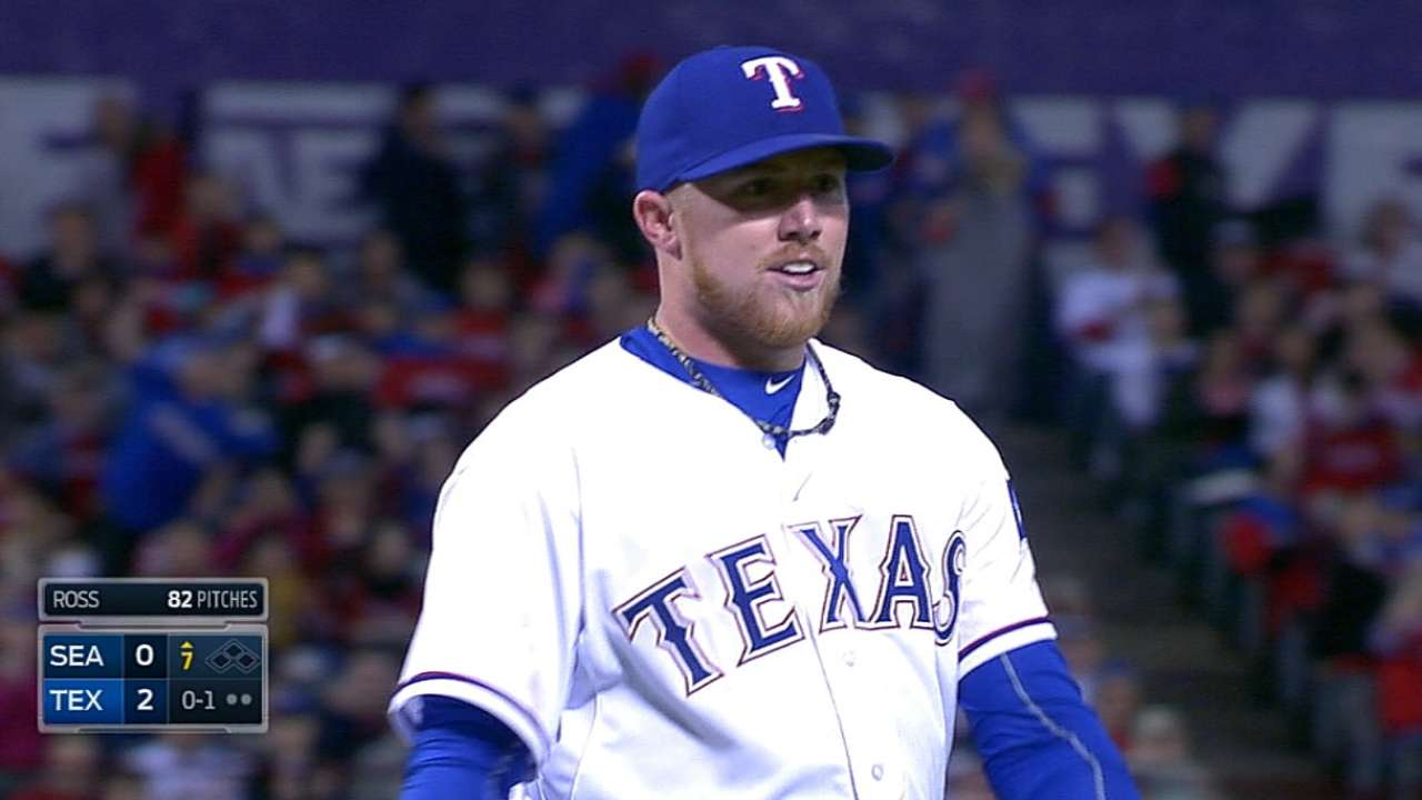Red Sox land lefty Ross from Rangers for Ranaudo