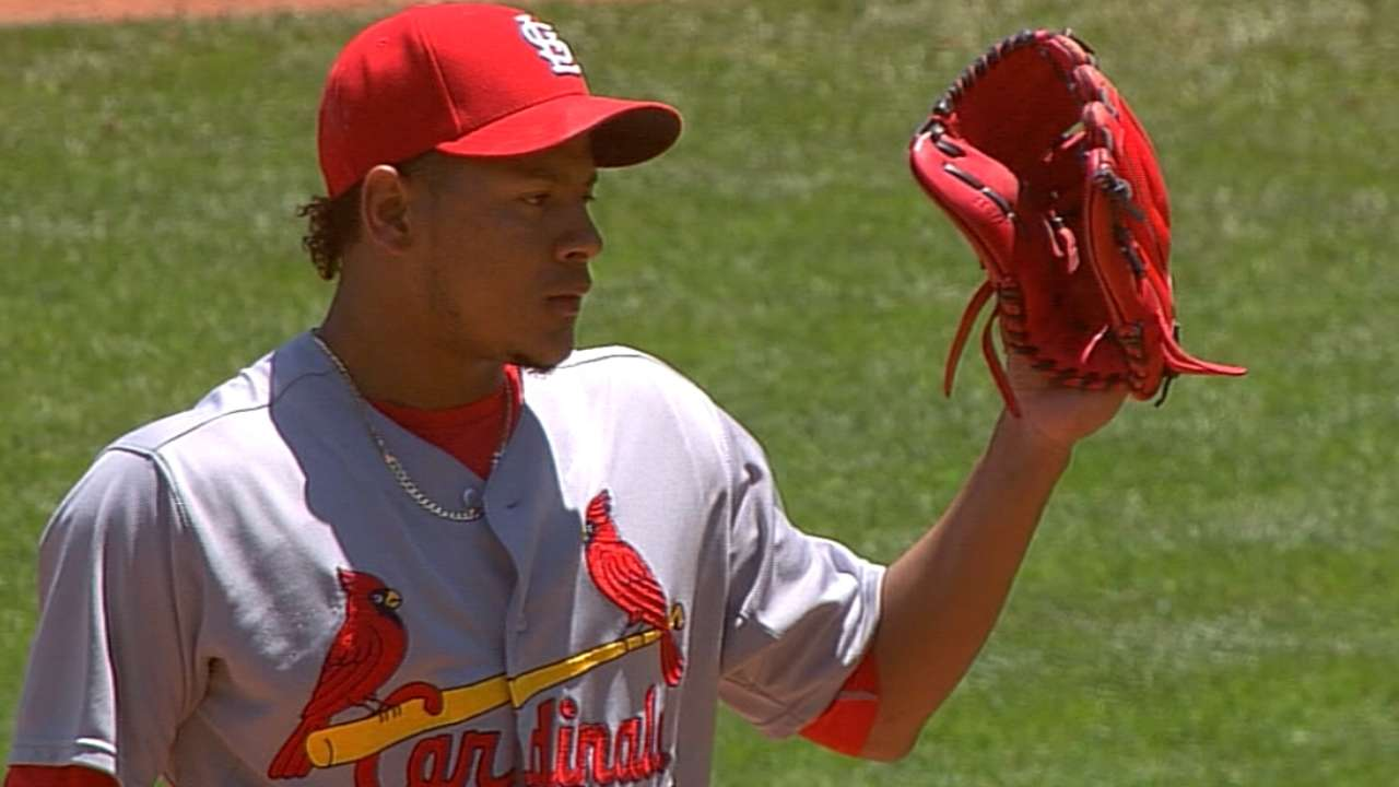 Martinez to join Cards' rotation