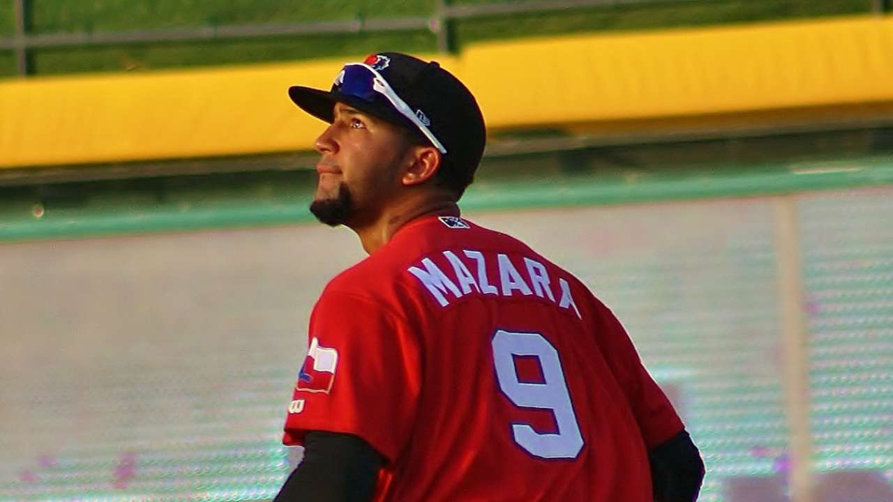 Mazara relishes spring starting assignments