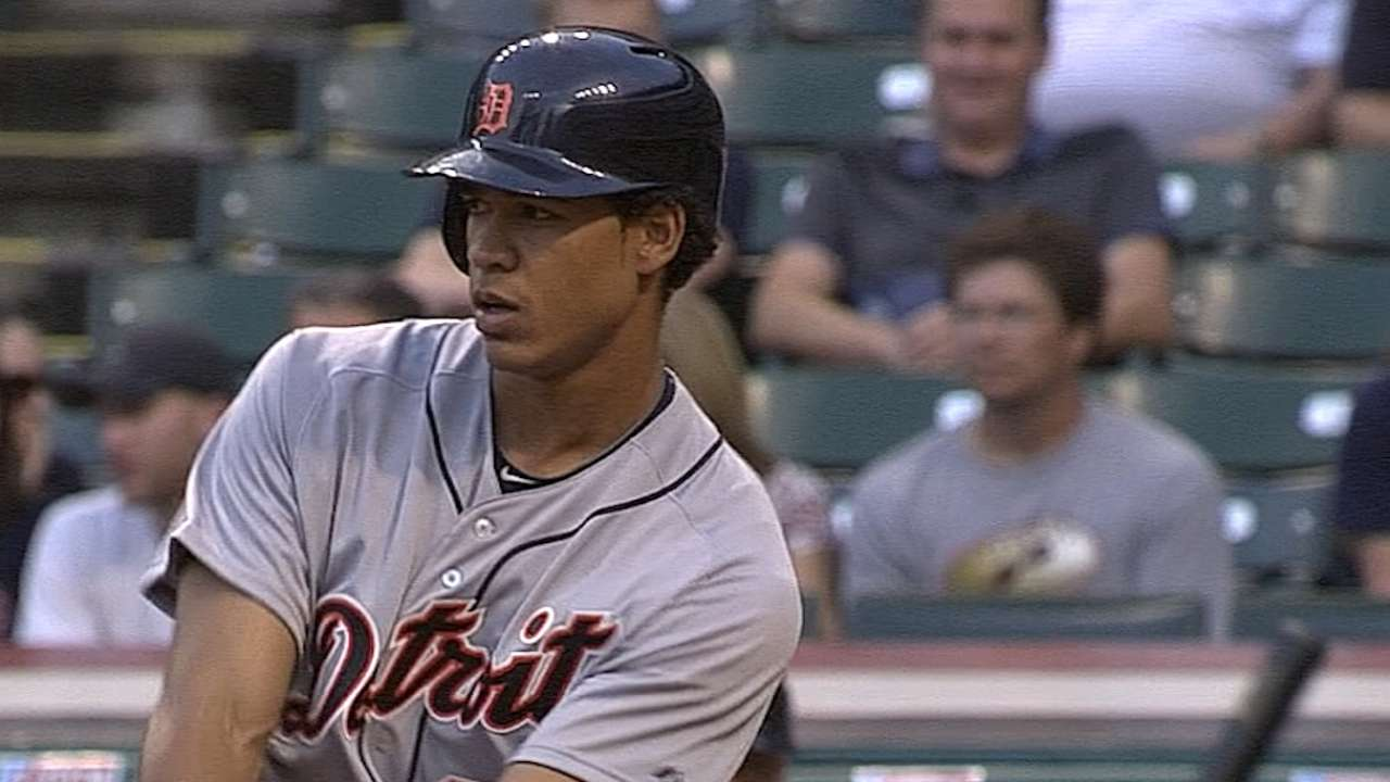 Moya represents Tigers on Top 100 Prospects list