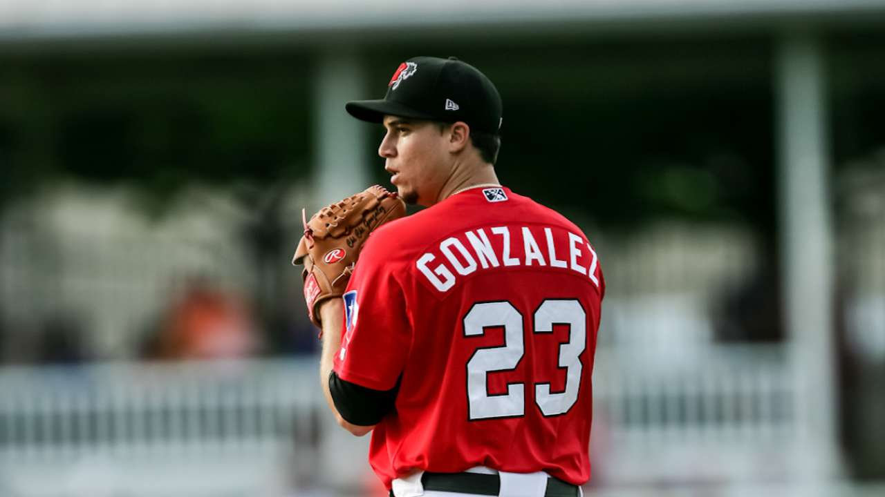 Prospect Gonzalez expected to start Saturday