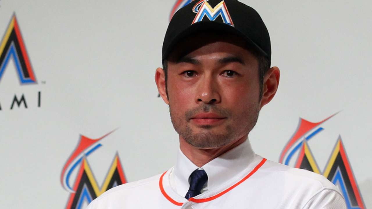 Ichiro signing may be Marlins' final offseason move