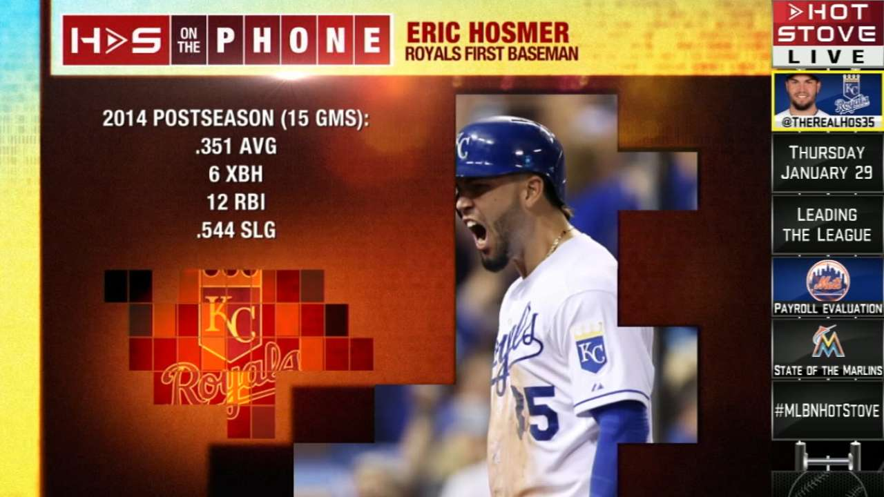 Hosmer looks back on Royals' 'incredible ride'