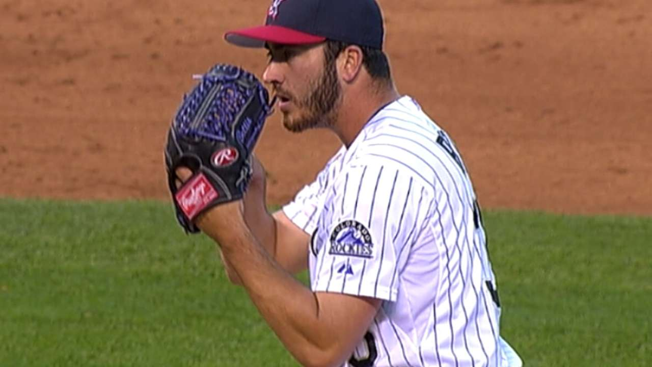 Bettis sets sights on starting rotation with Rockies