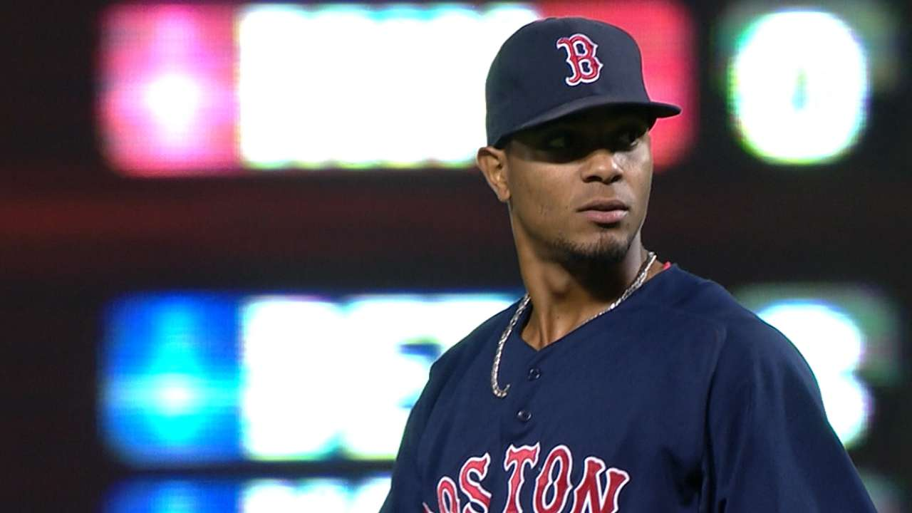 Outlook: Bogaerts, SS, BOS