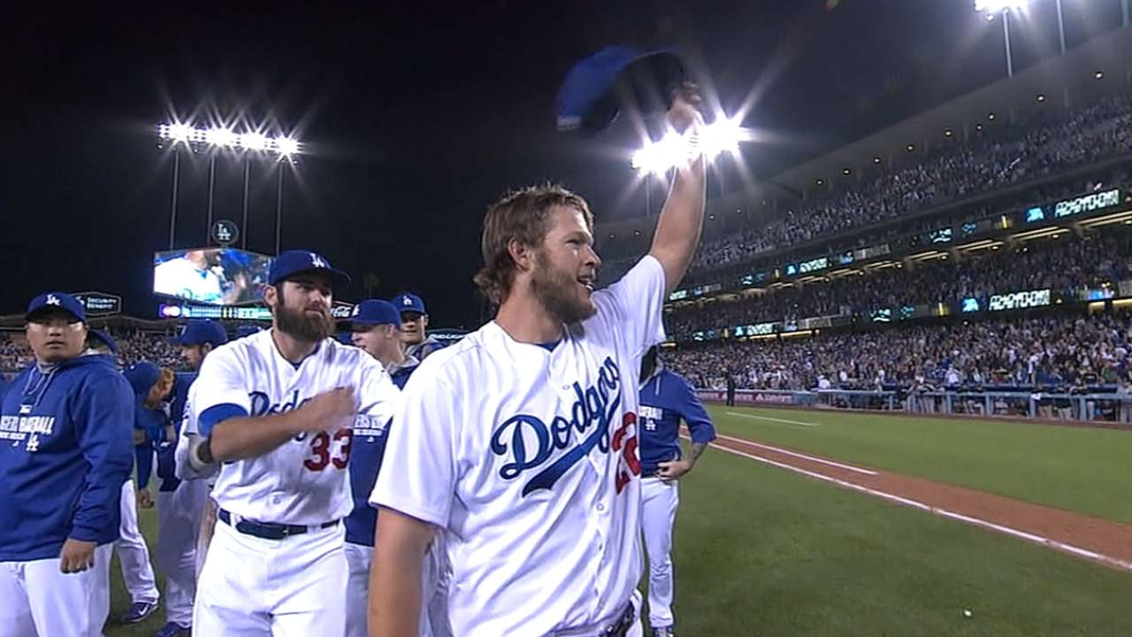 When they were prospects: Kershaw