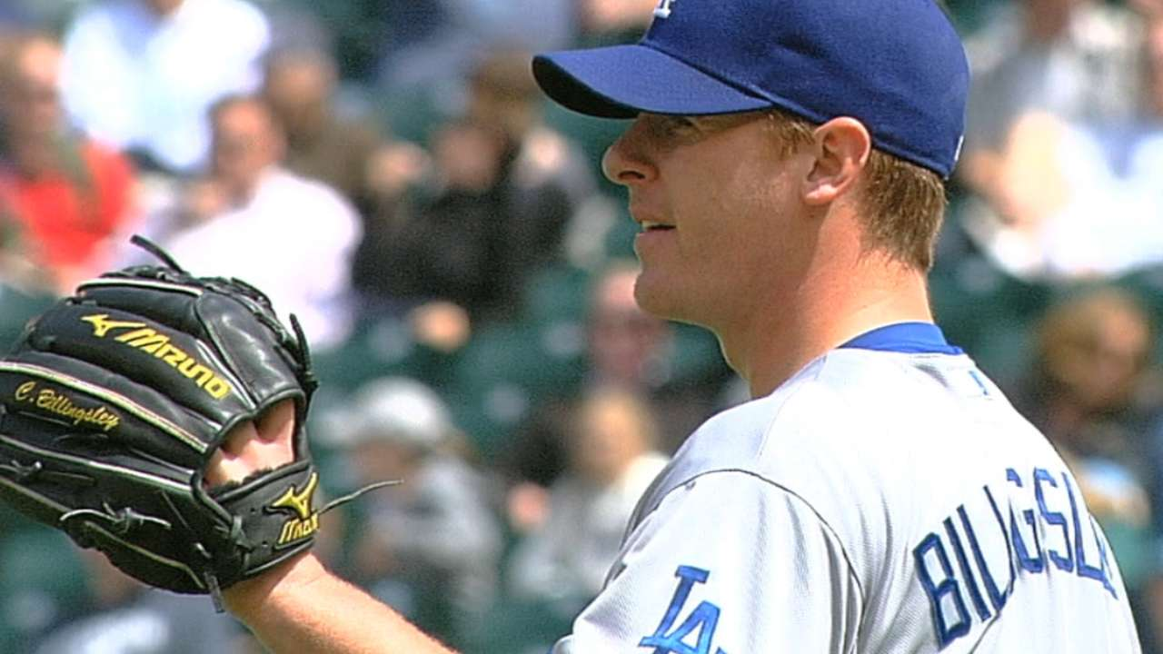Billingsley healthy, eager to return to Majors