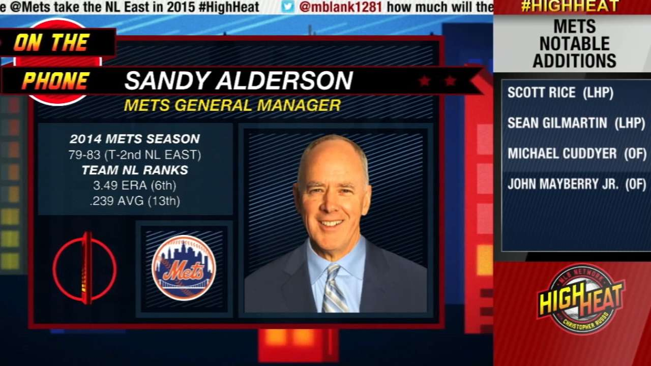 Alderson: Surplus of starters a good problem to have