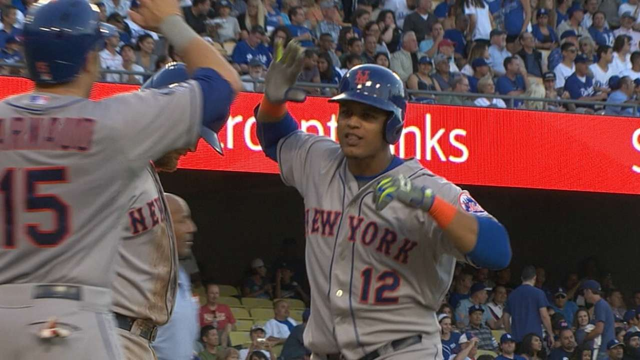 Lagares has chance to earn Mets' leadoff role