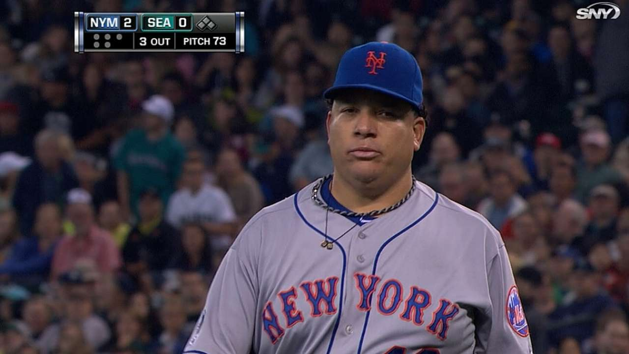 Goal for Colon is to reach 200 innings again in 2015