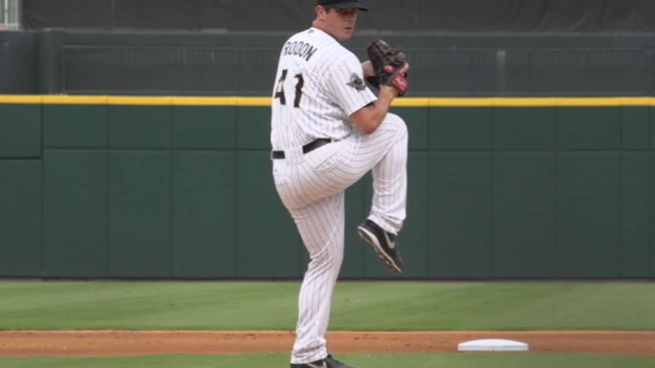 Rodon looks ahead to 2015