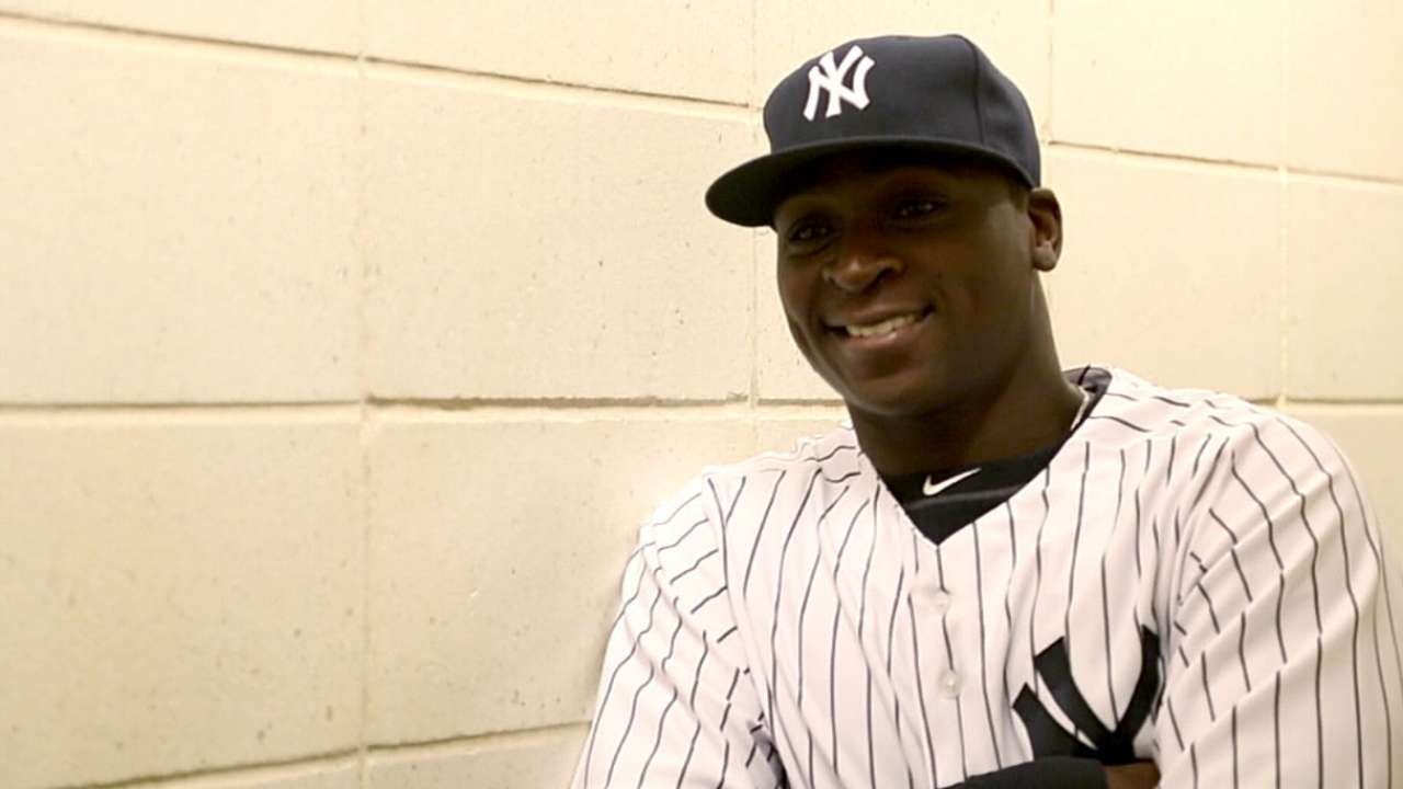 With no intention of 'replacing' Jeter, Didi eager for shot