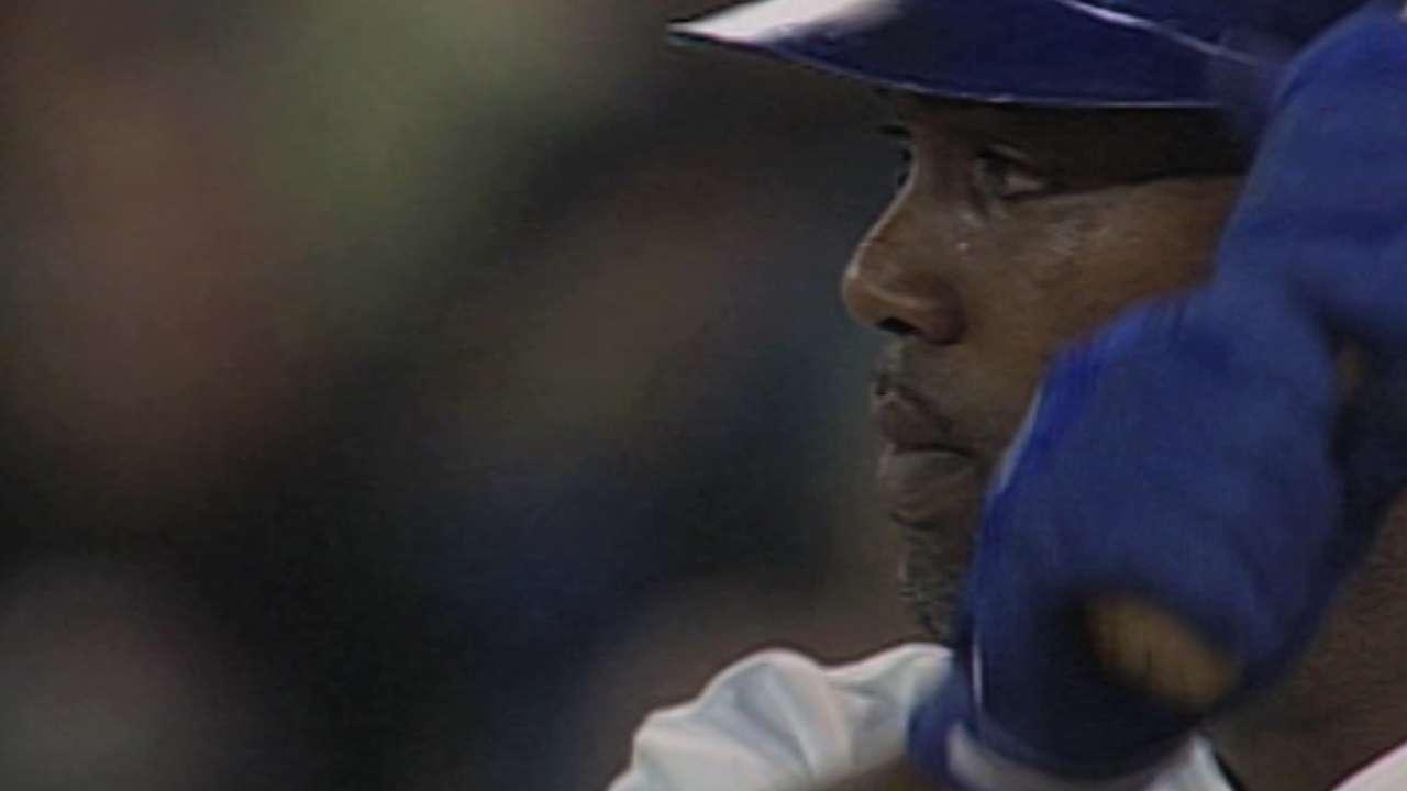 Delgado recalls four-homer game